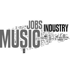 What s a quick breakdown of jobs in the music vector