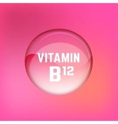Vitamin B12 01 A vector image