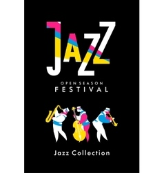 Jazz and Blues Festival vector image