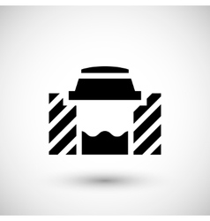 Sewage system icon vector image