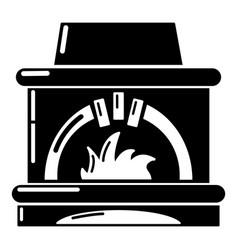 Blast furnace icon simple style vector