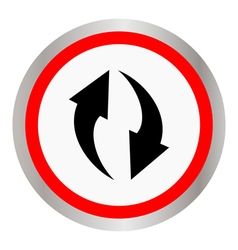 circulation icon vector image