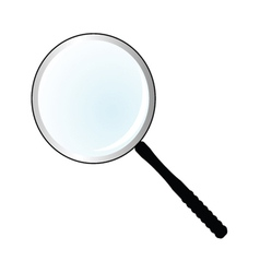 Magnifier simple vector