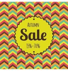 Sale retro poster Discounts banner template vector