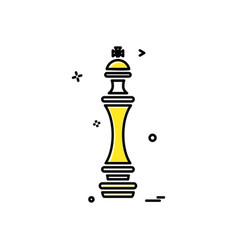 temple icon design vector image
