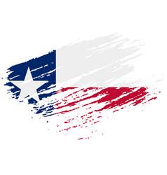 texas grunge damaged scratch vintage and old vector image