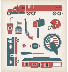 USA vector image vector image