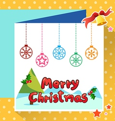 christmas3 vector image vector image