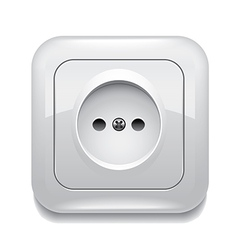 object socket vector image vector image
