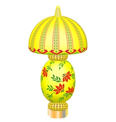 Desk lamp 3D vector image vector image