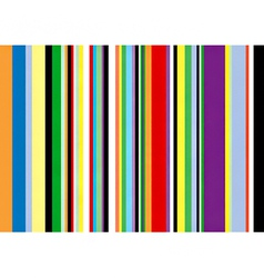 multi coloured vertical stripes vector image vector image