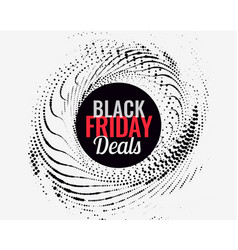 Abstract black friday deals background vector