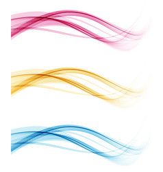 Abstract colorful background color wave vector