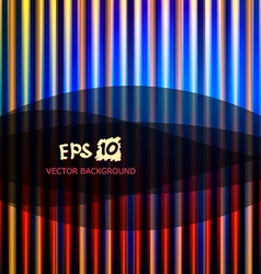 abstract striped background with place for your vector image