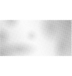 Black and white dots halftone effect gradient vector