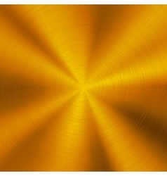 Gold Technology Metal Background vector