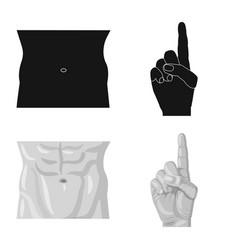 Human and part logo vector