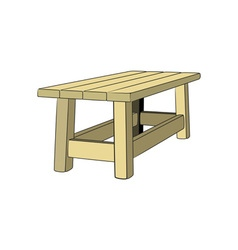 Table-3d-380x400 vector