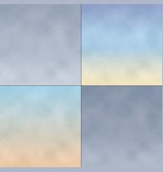 Textured gradient sky backgrounds vector