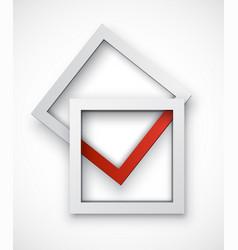 tick box vector image