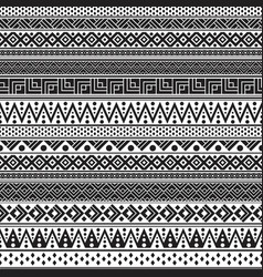 tribal seamless pattern geometric seamless vector image