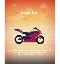 With abstract background vector