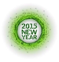 2015 fireworks green vector
