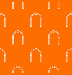 arch pattern seamless vector image