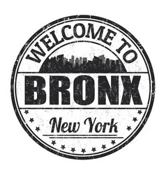 Bronx sign or stamp vector
