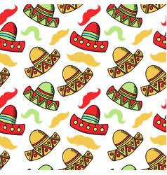 cinco de mayo celebration festive hats accessory vector image