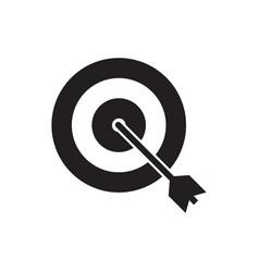 dart icon graphic design template vector image