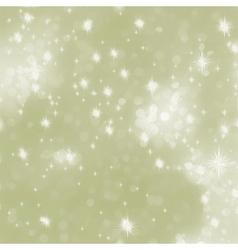 elegant glittery christmas vector image