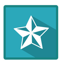 emblem star icon image vector image