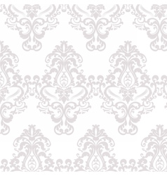 Floral damask ornament pattern vector
