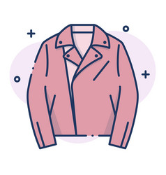 Jacket linecolor vector