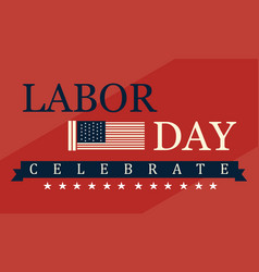Labor day background style collection vector