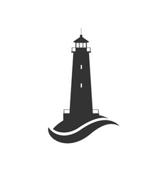 lighthouse symbol vector image