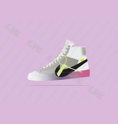 Nike blazer off white vector