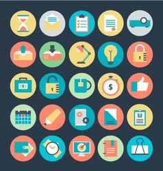 Office Colored Icons 3 vector