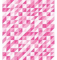 pink grunge mosaic vector image