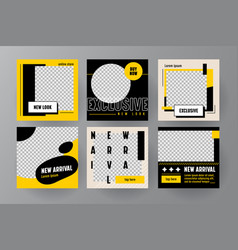 Set new arrival banners or templates vector