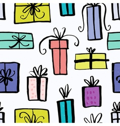 Unique Christmas Gifts Design vector image