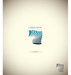 logo Technology Business abstract design template vector image vector image