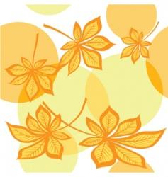 maple autumn vector image vector image