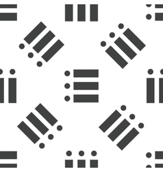 Dotted list pattern vector