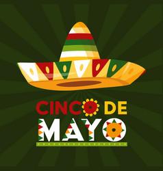 Mexico cinco de mayo vector