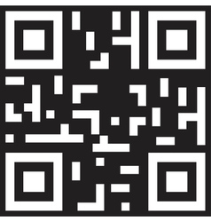Sample qr code ready to scan vector