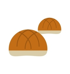 Small Baked Buns vector