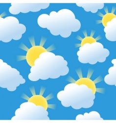 sunshine seamless vector image