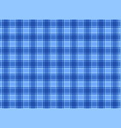 tartan plaid blue vector image